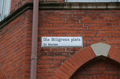Ola Billgrens plats