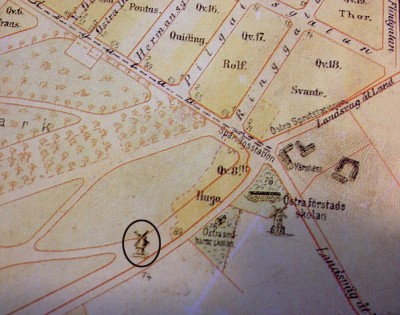 Stubbamöllan karta 2