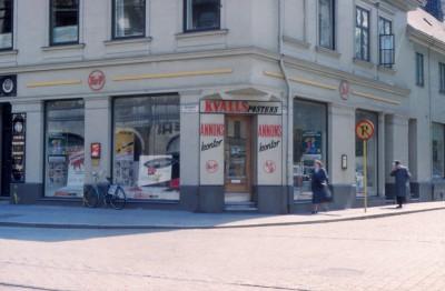 Den Bilden Östergatan Kvällspostens kontor