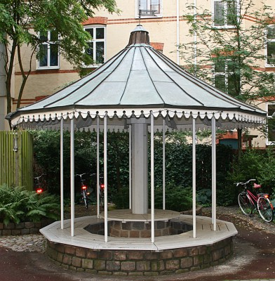 Den Bilden Kockums Holme karusell gamla Malmö