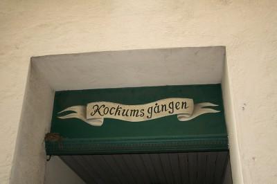 Den Bilden Kockumsgången gamla Malmö