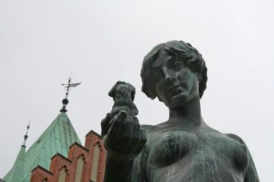 Den Bilden Konstkritik Stadsbiblioteket Baltiska utställningen Malmö