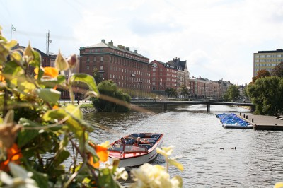 Den Bilden Amiralsbron Rörsjöbron gamla Malmö