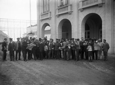 Den Bilden Baltiska utställningen efter första världskrigets utbrott 1914