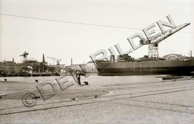 Den Bilden Kockums Varv gamla Malmö 1950-tal