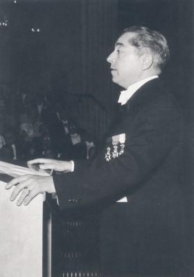 Den Bilden Malmö Stadsteaters invigning 1944 gamla Malmö Hjalmar Gullberg