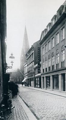 Den Bilden Ohm hus på Rundelsgatan gamla Malmö