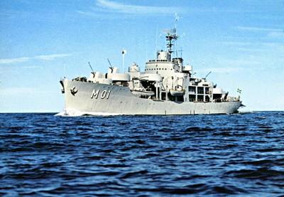 Malmöblickar Den Bilden HMS Älvsnabben