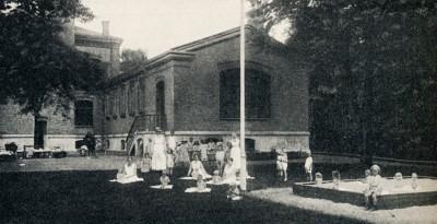 Malmöblickar Malmö Barnsjukhus gamla Malmö