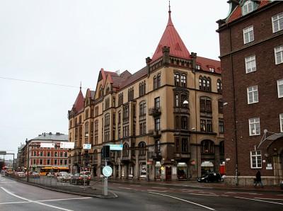 Amiralsgatan Då och Nu