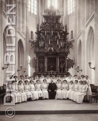 Ebbas konfirmation i Sankt Petri kyrka