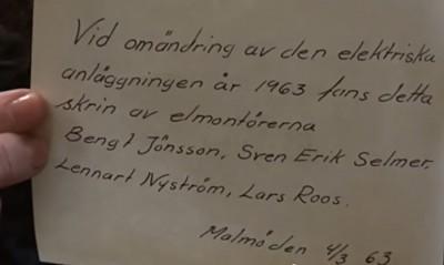Petri brev 1963