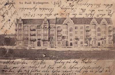 Sankt Pauli kyrkogata från Betty