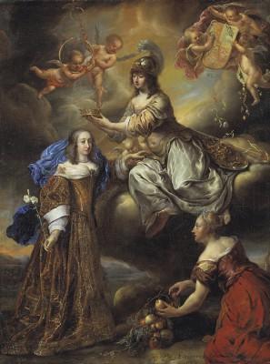 """Målning av Juriaen Ovens. I år är det 300 år sedan den svenska stormaktstidens mest inflytelserika kvinna gick ur tiden - drottning Hedvig Eleonora (1636-1715) av Holstein-Gottorp. Hon var byggherre och beställare till flera av vårt lands främsta barockmiljöer. Hon var en riktig """"power queen"""" men omnämns i historieböckerna oftast i rollen som maka till Karl X, mamma till Karl XI och farmor till Karl XII. Årets tre utställningar och programverksamhet vill lyfta fram fler sidor av henne. - Drottning Hedvig Eleonora är säkert känd till namnet av många men för övrigt tror jag att man i allmänhet vet rätt lite om denna anmärkningsvärda kvinna som var en av de mest inflytelserika personerna i Sverige under nästan sex decennier under 1600-talet och början av 1700-talet, säger Husgerådskammarens Överintendent Margareta Nisser-Dalman."""