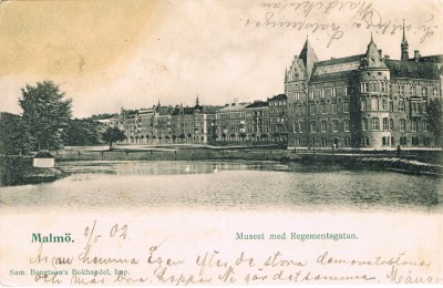 Strejkerna i Malmö 1902 bild
