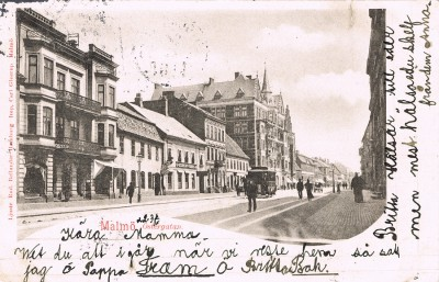 Blogg Hästspårvagn 1899 bild