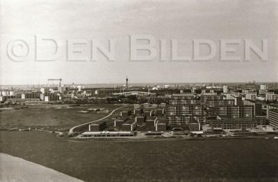 Utsikt från Hyllie Vattentorn juni-74