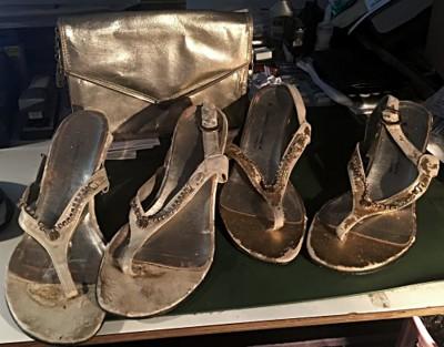 sandaler för bloggen