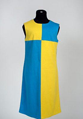 gult och blått