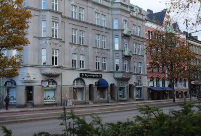 Amiralsgatan och Kungsgatan 2016