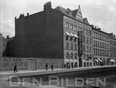 Planket Amiralsgatan och Kungsgatan